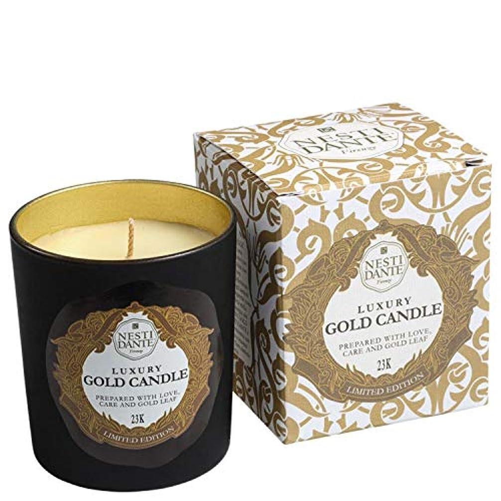密輸コア基礎理論ネスティダンテ Luxury Gold Candle 23K (Limited Edition) 160g/5.64oz並行輸入品