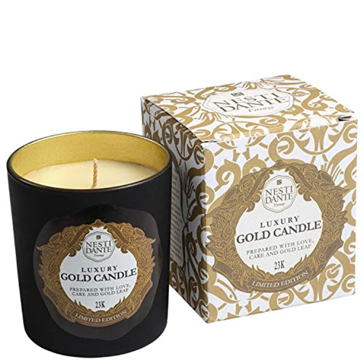 危機並外れた夫ネスティダンテ Luxury Gold Candle 23K (Limited Edition) 160g/5.64oz並行輸入品