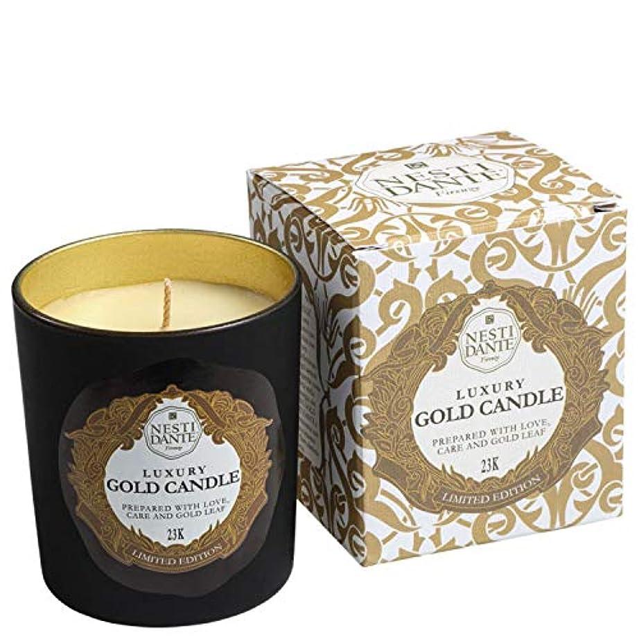 ゴミふりをするあまりにもネスティダンテ Luxury Gold Candle 23K (Limited Edition) 160g/5.64oz並行輸入品