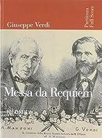 Giuseppe Verdi - Messa Da Requiem: Full Score