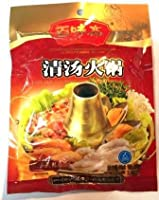 百味斋 BAIWEIZHAI 鍋の素(清汤火锅)BREE HOT POT PASTE (CONCENTRATED FLAVOR) 浓缩・底料 200g 生友 四川