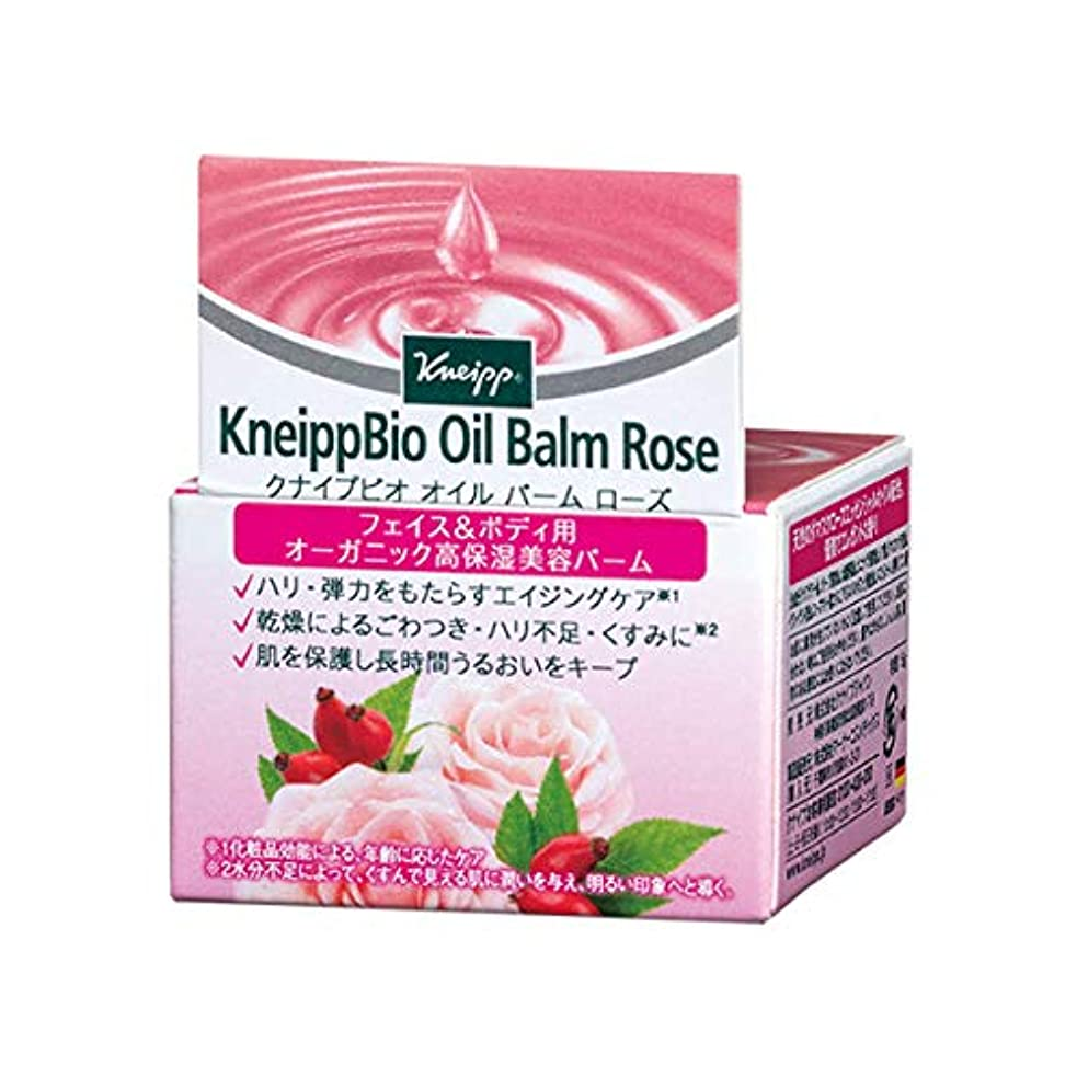 休憩テメリティポルノクナイプ(Kneipp) クナイプビオ オイル バーム ローズ 15g 美容液