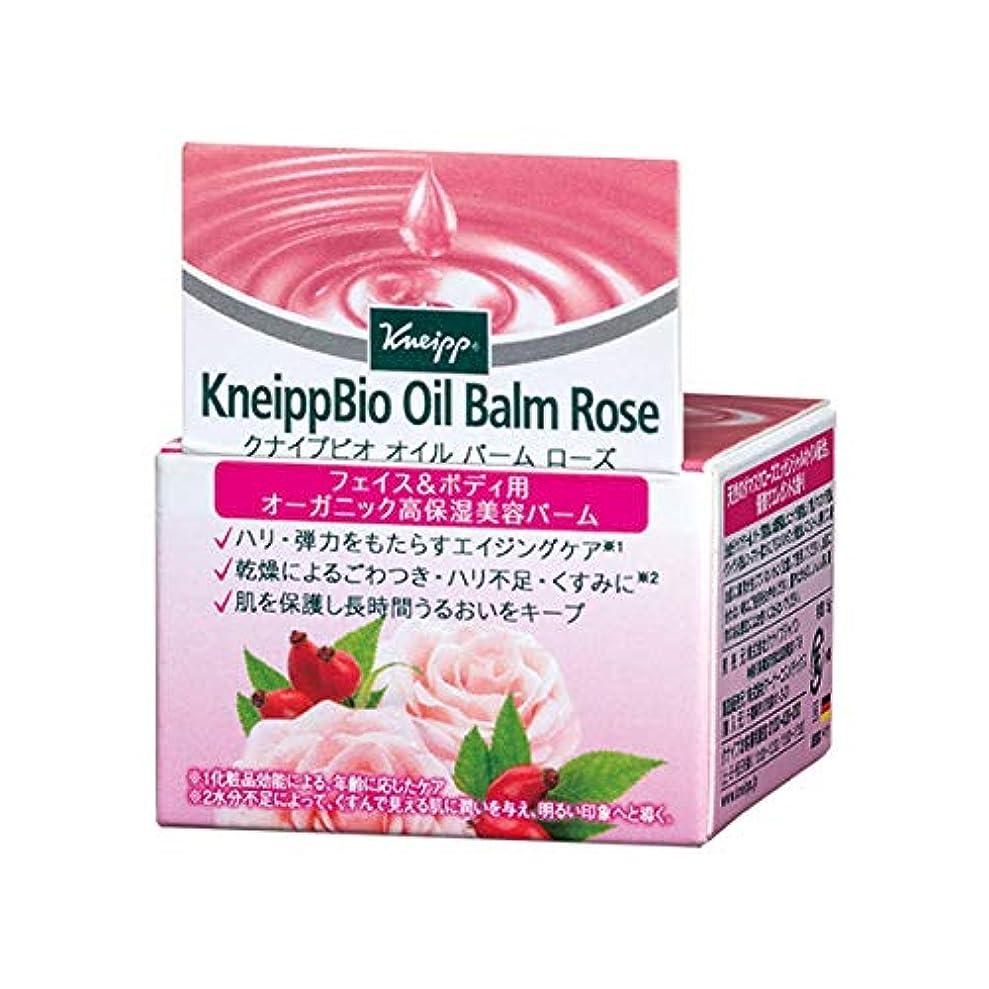 かんがい行動本質的にクナイプ(Kneipp) クナイプビオ オイル バーム ローズ 15g 美容液