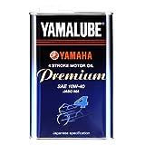 ヤマハ(YAMAHA) 二輪車用エンジンオイル ヤマルーブ プレミアム 10W-40 MA 部分合成油 4サイクル用 1L 90793-32143 [HTRC3]