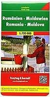 Romania - Moldova Road Map 1:700 000 (Road Maps)