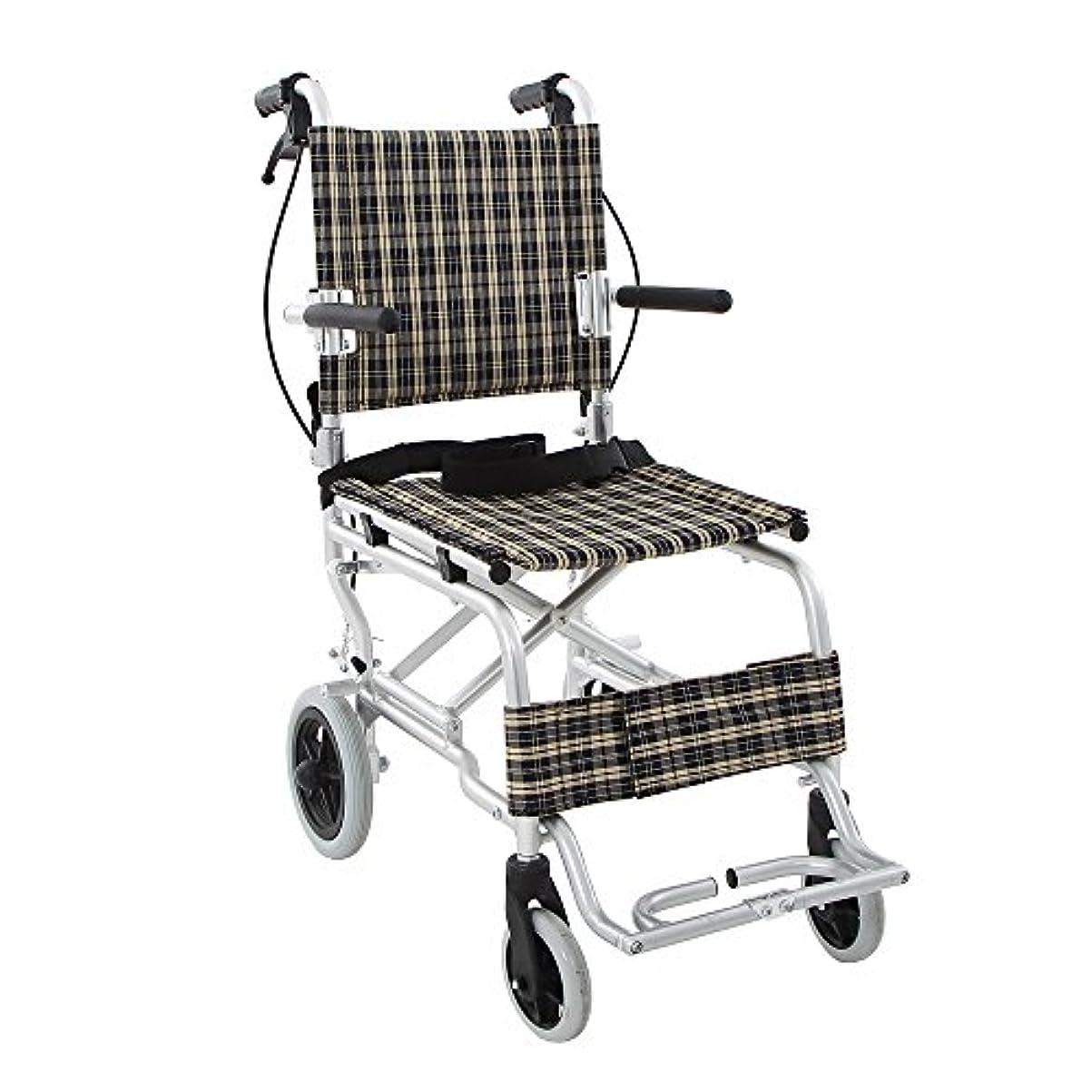 途方もない論争の的誤楽々健 折り畳み式車椅子 介助型 軽量アルミ製 簡易車椅子 旅行用 外出用 コンパクト