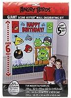 Angry Birds Scene Setter Wall Decorating Kit [並行輸入品]