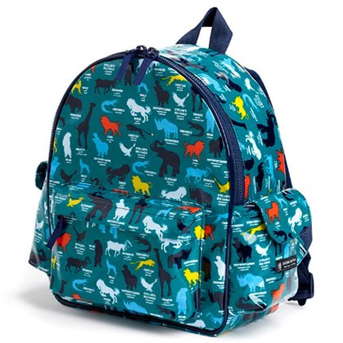 間欠つぼみモナリザいつも一緒のmy通園リュック アニマルシルエット百科事典 日本製 N0636500 入園グッズ 幼稚園バッグ 保育園バッグ