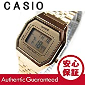 【P】CASIO(カシオ) LA-680WGA-9/LA680WGA-9 スタンダード デジタル オールゴールド レディースウォッチ 腕時計 [並行輸入品]