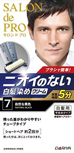 サロンドプロ 無香料ヘアカラー メンズスピーディ(自然な黒色) 【HTRC5.1】