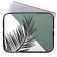 Recaso(レカソ)シュロ 葉 ラップトップスリーブ おしゃれ 11.6/12インチ PCケース パソコンケース パソコンカバー ラップトップスリーブ ノートパソコン