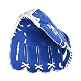 Tera® 野球グローブ 子供用 少年野球 軟式 10.5インチ 右投げ用 ブルー