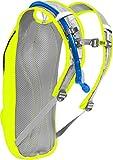 CAMELBAK(キャメルバック) CLASSIC クラシック ハイドレーションバッグ 自転車用バックパック 軽量 リザーバータンク付き 2.5L(850oz) セーフティーイエロー/ネイビー 18891083 画像