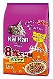 カルカン ドライ 高齢猫 8歳から用 毛玉ケア かつおとチキン味 1.6kg [キャットフード]