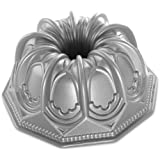 Nordic Ware Vaulted Cathedral Bundt Pan, Metallic