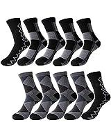 靴下 メンズ カジュアル ビジネスソックスリブソックス ビジネス くつ下 通気性抜群 抗菌防臭 10足セット RPXX1007-03