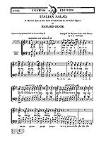 Genee, R Italian Salad Baritone Solo/Satb. Pour Chorale