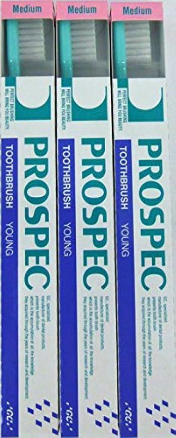 アンソロジー麻酔薬主観的GC プロスペック 歯ブラシ ヤング M (NP) (3本セット)