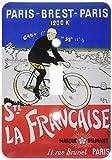 3drose LSP _ 153251_ 1La Francaiseフランスパリヴィンテージ自転車広告ポスターSingle切り替えスイッチ