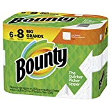 Bounty Big Roll White, 48 Count (Pack of 6)