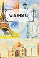 Willemstad: Ruled Travel Diary Notebook or Journey  Journal - Lined Trip Pocketbook for Men and Women with Lines