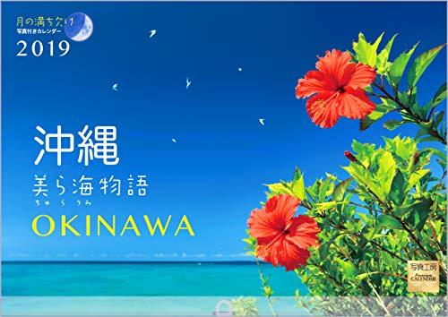 沖縄 美ら海物語 2019年 カレンダー 壁掛け SB-5 (使用サイズ 594x420mm) 風景