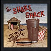 Shake Shack by David Carter Brown–10x 10インチ–アートプリントポスター LE_480531-F101-10x10