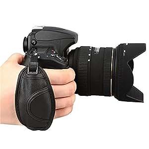 Ganbatte ハンドストラップグリップストラップカメラグリップベルト手首を完全固定!Canon/Nikon/Pentax/Sony/Panasonic一眼レフカメラ用