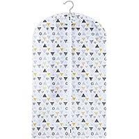 Urijkスーツバッグ クローゼット オーガナイザー 衣類 半透明の北欧スタイル 防塵カバー