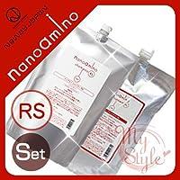 ナノアミノ シャンプー&トリートメントRS<1000mL>詰め替えセット ニューウェイジャパン nanoamino