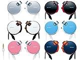 ソニー SONY ヘッドホン MDR-Q38LW : コード巻き取り式 薄型耳かけスタイル ホワイト MDR-Q38LW W 画像