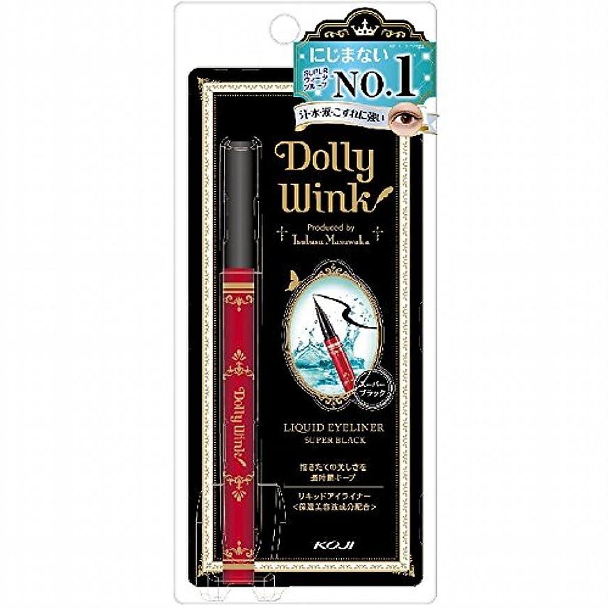 蓋世界記録のギネスブック楽しいドーリーウインク リキッドアイライナー ウォータープルーフ スーパーブラック