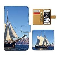 (ティアラ) Tiara HTC U11 601HT スマホケース 手帳型 Ship 手帳ケース カバー 観光船 ヨット 船舶 ボート 海 F0283020096102