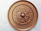 三角縁神獣鏡レプリカ 20cm赤銅色
