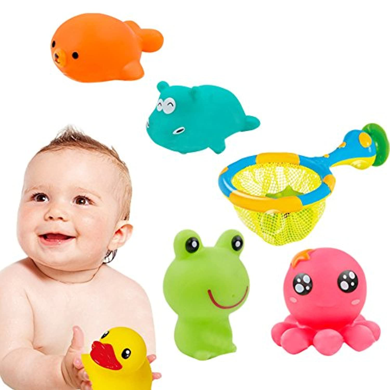 wesracia入浴おもちゃPlaying水Fishing NetセットBathing水おもちゃfor Child