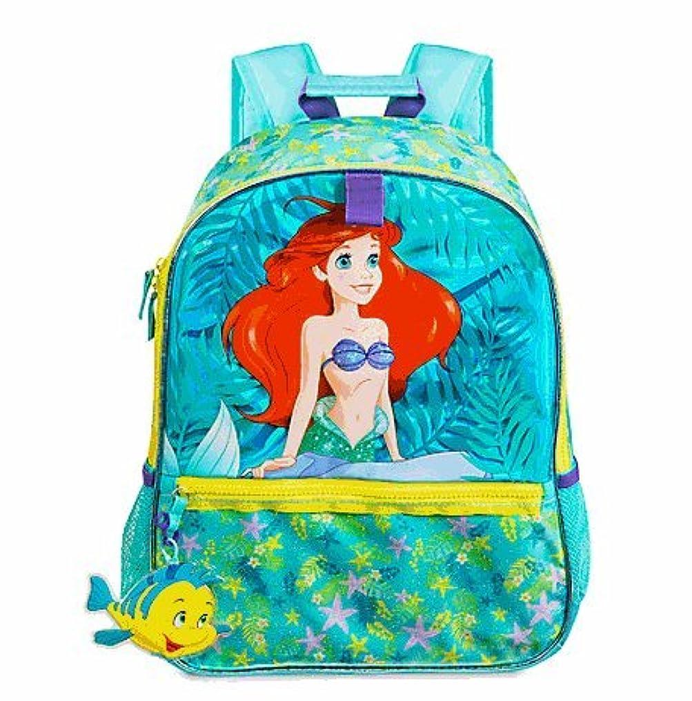 成人期正午配置Disney(ディズニー) Little Mermaid Backpack リトルマーメイド アリエル リュックサック [並行輸入品]