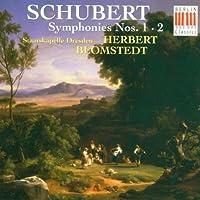 Symphonies 1 & 2 by Schubert