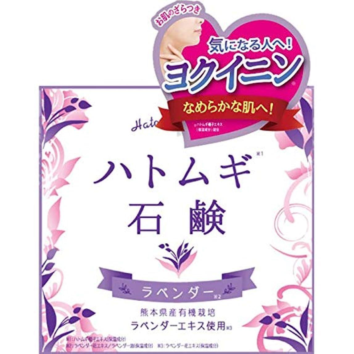 幼児巡礼者学習者三和通商 ハトムギ石鹸 80G