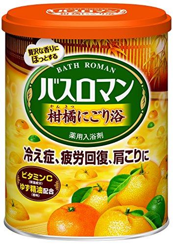 バスロマン にごり浴 柑橘の香り 680g