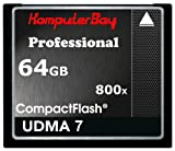Best Komputerbay CFカード - Komputerbay 64GB Professional CarteコンパクトフラッシュCF 800X ECRIRE 75Mo / Review