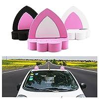 創造的な人格かわいい耳のスタイル3D車のステッカー車の屋根の装飾(1組、ランダムカラー)