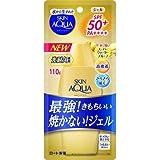 スキンアクア (SKIN AQUA) UV スーパー モイスチャージェル 最強ゴールドUV 日焼け止め 無香料 110g SPF50+ / PA++++ 猛暑でもべたつかない気持ちいい化粧水ジェルUV×12個