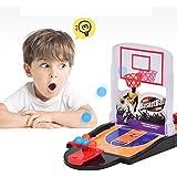Ocamo ダブルシューティングボードゲーム ミニバスケットボールシューティングトイ 子供用デスクトップゲーム ファミリーホーム