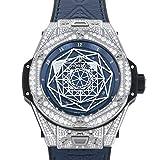 ウブロ HUBLOT ビッグバン ウニコ サンブルー チタニウム ブルーパヴェ 415.NX.7179.VR.1704.MXM18 新品 腕時計 メンズ (415NX7179VR1704MXM) [並行輸入品]