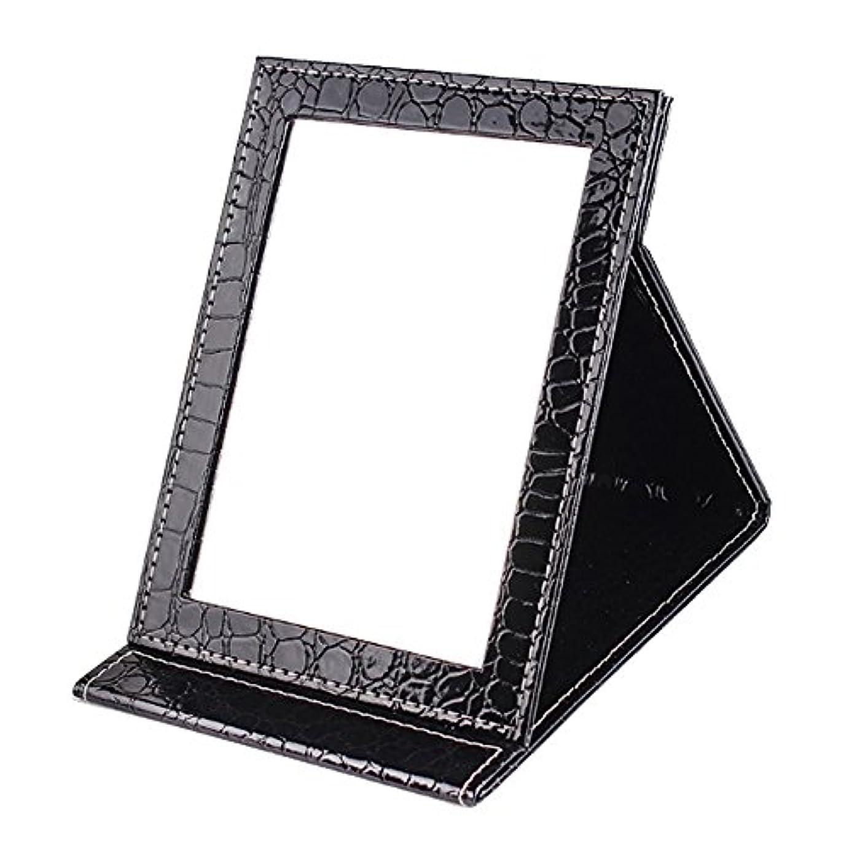 サービス気になる面積[BEATONJAPAN] 手鏡 折りたたみ 折り畳みミラー 卓上