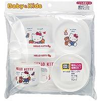 Hello Kitty | Baby & Kids Food Tableware Set | BG-130 ( Japanese Import ) by OSK [並行輸入品]