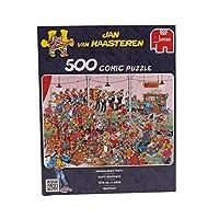 Jan van Haasteren - Bierfest - 500 Teile mit Poster