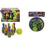 Teenage Mutant Ninja Turtles Bowling Set and Stickyキャッチゲームセット