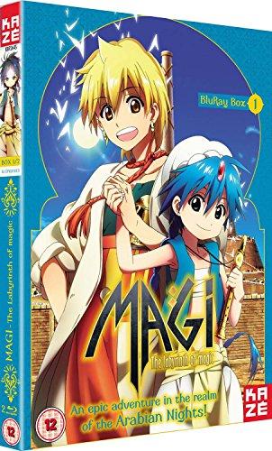 Magi The Labyrinth of Magic - Season 1 Part 1