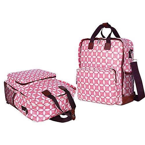 LANDUO マザーズバッグ 軽量 女性用リックサック  防水 多機能  ママバッグ 大容量 レディーズバックバッグ ハンドバッグ トート  ベビー用品収納バッグ  旅行バッグ ストラップ付き